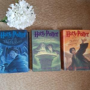 BUNDLE Harry Potter Hardback Books